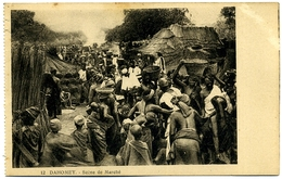 CPA DAHOMEY (Bénin) Scène De Marché - Dahomey