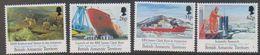 British Antarctic Territory 1991 200th Anniversary M. Faraday 4v   ** Mnh (41653) - Brits Antarctisch Territorium  (BAT)