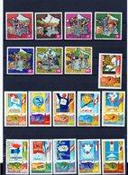 Äquatorial Guinea, 1973, 1975, Michel 259/65, 535/45, Gestempelt/°/stamped, Tour De France, Ol.-Sp. Innsbruck - Äquatorial-Guinea