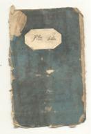 LIEGE - Livret De Travail De 1854 - Charbonnage, Houillère,Cie De Navigation Vapeur, Conduites D'Eau- Marcophilie(b242) - Non Classés