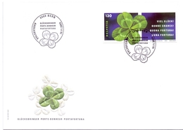 HELVETIA   Bern Good Luck  MAGNIFIC COVER (GEN190078) - Vegetazione