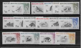 Falkland N°122/136 - Oiseaux - Neuf ** Sans Charnière - TB - Falkland