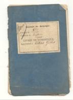 LIEGE - Livret De Domestique Chez Un Négociant Liégeois De 1878 , Montulet, Conduites D'Eau - Marcophilie(b242) - Non Classés