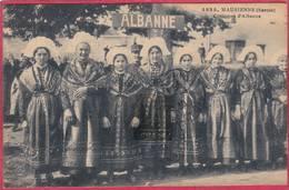 CPA 73 ALBANNE Costumes D' Albanne  ( Montricher   ( L101  C/ St Jean De MAurienne - Sonstige Gemeinden