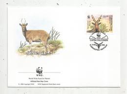 Lettre , 1 Er Jour,official First Day Cover , WWF , Ouzbékistan ,Uzbekistan , 1995 , Capra Falconeri - Ouzbékistan