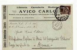 5150 CUNEO MONDOVI AVICO - 1900-44 Victor Emmanuel III