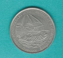 2 Dollars - 1998 - Battle Of St, George's Caye - KM131 - Belize