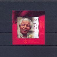 Tunisia/Tunisie 2018 -  Minisheet - Centenary Of The Leader Nelson Mandela  - MNH** Excellent Quality - Tunisia