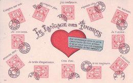 Le Langage Des Timbres Litho (88) - Timbres (représentations)