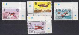 British Antarctic Territory (BAT) 1983 Manned Flight 4v (corners) ** Mnh (41656B) - Brits Antarctisch Territorium  (BAT)