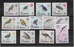 Gambie N°208/220 - Oiseaux - Neuf ** Sans Charnière - TB - Gambia (...-1964)