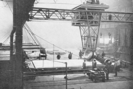 Coulée D'une Grande Glace Manufacture Des Glaces De St Gobain   1926 - Unclassified