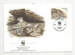 Lettre , 1 Er Jour,official First Day Cover , WWF , Kirgizstan , 1994 , Pantera Uncia - Kirghizistan