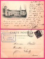 Cpa - Château De LAMARTINE à Saint Point - Oblit. Manufacture De Cordages Et Ficelles J. COIFFARD - 1900 - France