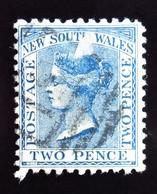 1863 New South Wales Yt 40 .Queen Victoria . Oblitéré - Oblitérés
