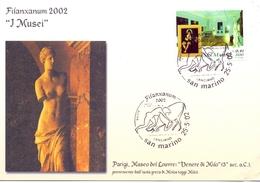 SAN MARINO  FDC  FILANXANUM 2002 COVER  (GEN190081) - Enfermedades