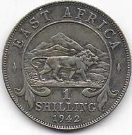 EAST AFRICA - 1 Shilling  1942 - British Colony