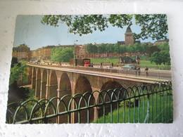 C P A  LUXEMBOURG   VIADUC   Années 60 - Luxemburgo - Ciudad