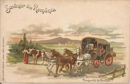 Suvenir Din România. (scan Verso) - Roumanie