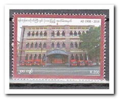 Myanmar 2018, Postfris MNH, 110 Years Postbuilding - Myanmar (Birma 1948-...)