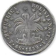 BOLIVIE  - 4 S    1859 - Bolivie