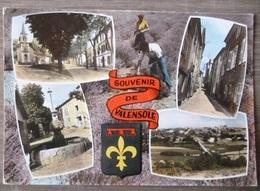 VALENSOLE  (04). LOT DE 2 CPM . ANNEES  1965 Et 1980. - France