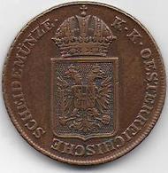 AUTRICHE  - 2 Kr    1848 - Oesterreich