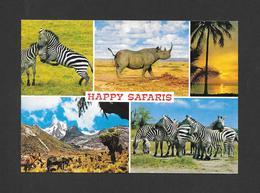 ANIMAUX - ANIMALS - HAPPY SAFARIS - ZÈBRES - ZEBRA - RHINOCÉROS - CHEVAUX - BY SAPRA STUDIO - Zèbres
