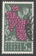 Cyprus. 1962 Definitives. 5m Used. SG 212 - Cyprus (Republic)