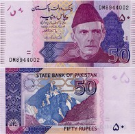 PAKISTAN        50 Rupees        P-47g       2013       UNC  [sign. Yaseen Anwar] - Pakistan