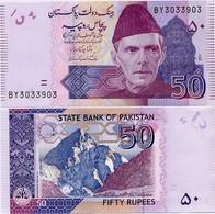 PAKISTAN        50 Rupees        P-47e       2011       UNC  [sign. Shahid Kardar] - Pakistán