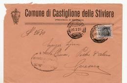 5186 MANTOVA COMUNE CASTIGLIONE DELLE STIVIERE - Storia Postale