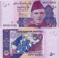PAKISTAN        50 Rupees        P-47d       2010       UNC  [sign. Salim Raza] - Pakistan