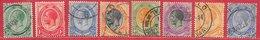 Afrique Du Sud N°2, 2A, 5 à 9, 15 8 Tp 1913-20 O - Used Stamps