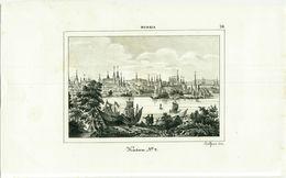 RUSSIA - KAZAN - Ca. 1850's OLD ENGRAVED PRINT - VIEW ( B ) - Prints & Engravings