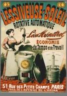 CPM - Nos Publicités - Lessiveuse Soleil - N° J11 - Reclame