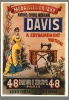 CPM - Nos Publicités - Machine à Coudre Davis - N° J3 - Reclame