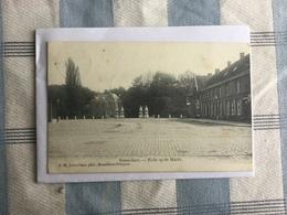 BRASSCHAAT 1906   BRASSCHAET  ZICHT OP DE MARKT - Brasschaat