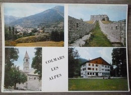 COLMARS LES ALPES  (04). LOT DE 3 CPM .  ANNEES  1965 à 1978 - France