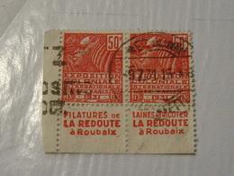 FRANCE  Timbres Avec Publicitée 1931 - Uso Corrente