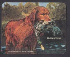 Chien Golden Retriever Chasse Hunting Cartouche Legia FN Hersyal Ancien Autocollant Sticker - Autocollants