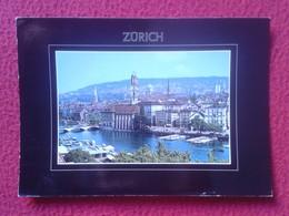 POSTAL POST CARD CARTE POSTALE SUIZA SUISSE SCHWEIZ SVIZZERA Switzerland ZÜRICH ZURICH WITH STAMP CON SELLO VER FOTOS - ZH Zurich
