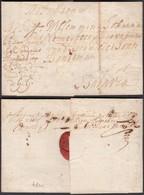 "PAYS-BAS 1773 Vers BATAVIA PAQUEBOT ""DEN EENDRAGT"" (AIX3771) DC-1391 - ...-1852 Préphilatélie"