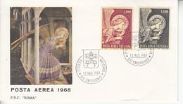 Vaticano - 1968 Posta Aerea FDC - FDC