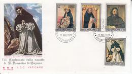 Vaticano - S. Domenico Di Guzman 1971 FDC - FDC