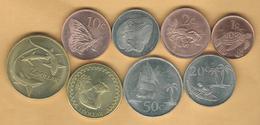 Elizabeth II - 2017 Issues - 1, 2, 5, 10, 20 & 50 Cents; 1 & 2 Dollars - Monnaies