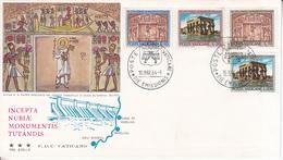 Vaticano - Monumenti Della Nubia 1964 FDC - FDC