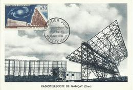 FRANCIA , SOBRE  TEMA TELESCOPIO NANCAY - Cartas