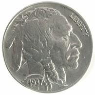 1937 - United States 5 Cents - KM# 134 -F - Emissioni Federali