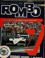 ROMBO 28/1985 GP FRANCIA PAUL RICARD 69 TARGA FLORIO LA TARGA DEL GATTO NERO - Motori